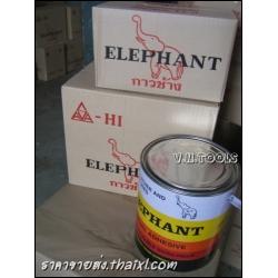 กาวยางตราช้าง 1/4 (ยกโหล)