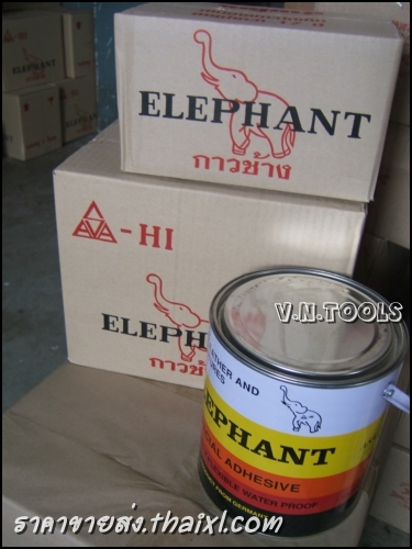 กาวยางตราช้าง 1/4 (ยกโหล) large