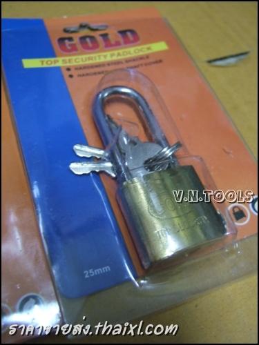 กุญแจทองเหลืองคอยาว25มิล(ตัว) large