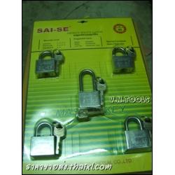 กุญแจ (ระบบลูกปืน-รุ่นมาสเตอร์คีย์) 40มิล (5ตัว/ชุด))