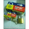 กุญแจทองเหลือง FION 32มิล (ยกโหล)