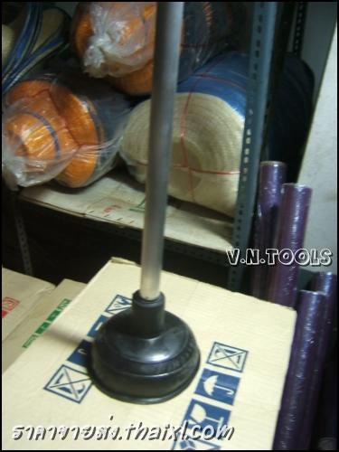 ยางปั๊มส้วม ด้ามอลูมีเนียม (ยกโหล) large