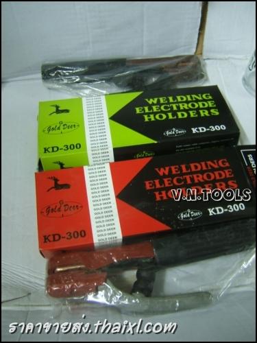 คีมจับลวดเชื่อม คีมจับอ๊อก KD300 สีแดง (ตัว) large