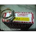 เข็มขัดรัดท่อ orbit ขนาด2 38-54มิล (กล่องบรรจุ50ตัว)
