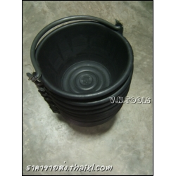 ถังปูนสีดำ หูพีวีซี pvc (ยกโหล)
